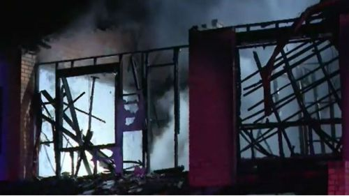 Townhouse gutted by inferno in Sydney