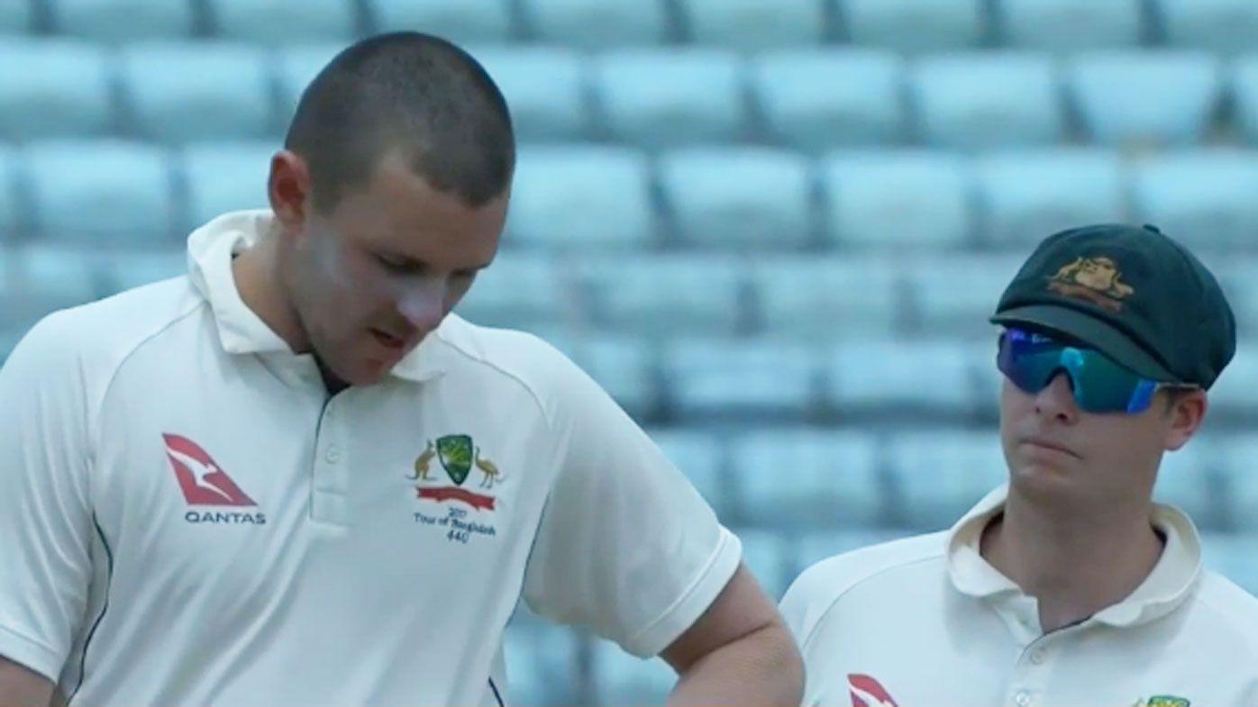 Injured Hazlewood to return to Australia
