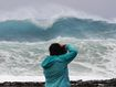 Monster waves crash in 13m high