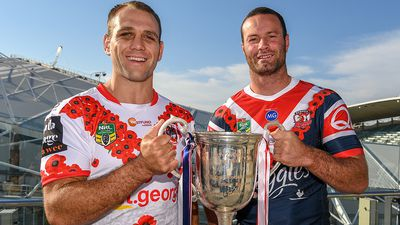 Dragons and Roosters in Anzac Day clash