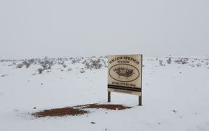Snow falls in SA while Tasmania records lowest temperature on record