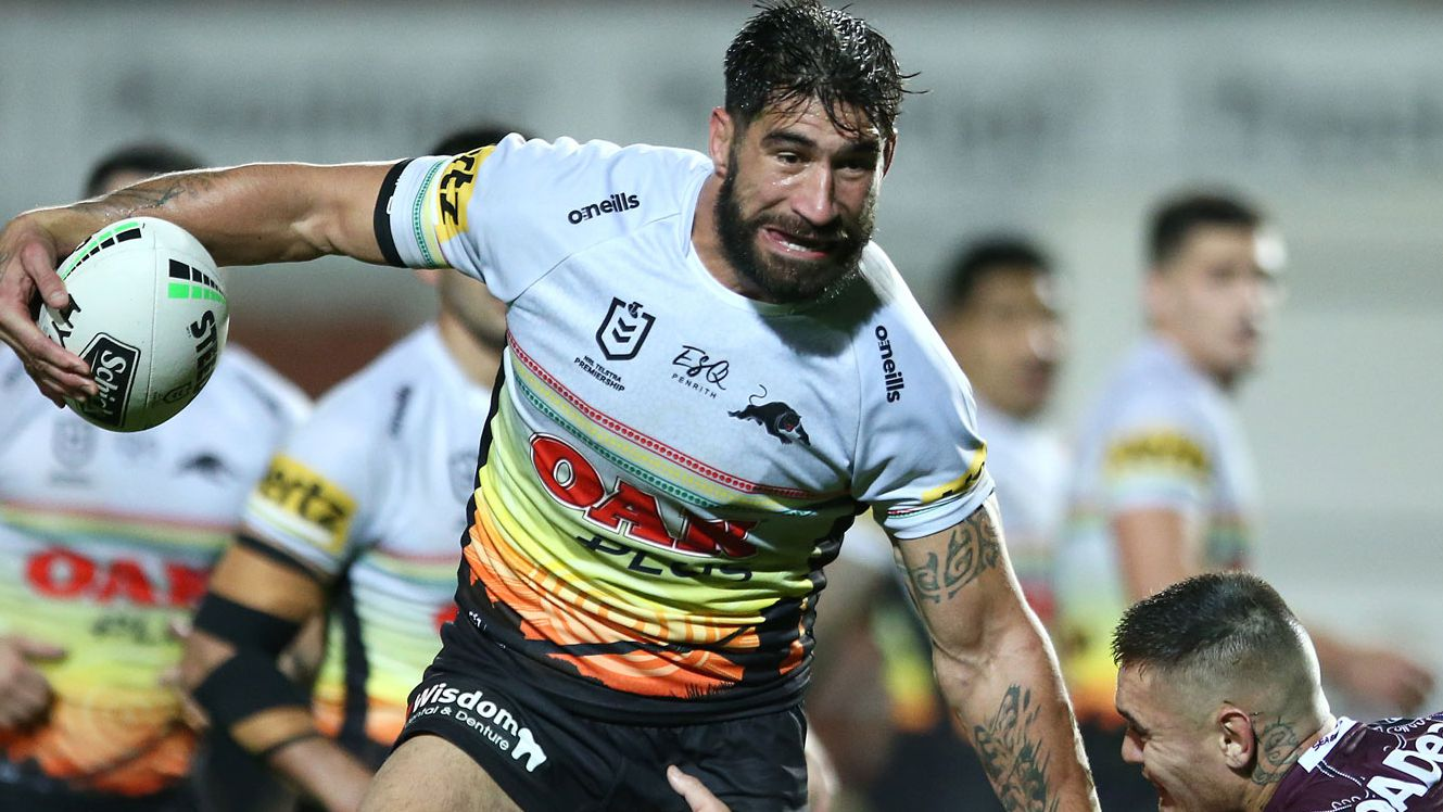 Wests Tigers land Penrith Panthers prop James Tamou on a two year deal