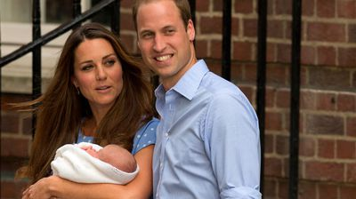 Prince William and the Duchess of Cambridge have named their first son George Alexander Louis, (AAP)