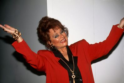 Evangelist and television personality Tammy Faye Bakker (Messner) in 1996.