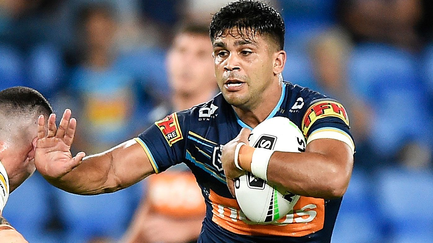Gold Coast's Tyrone Peachey targeted in alleged racial slur