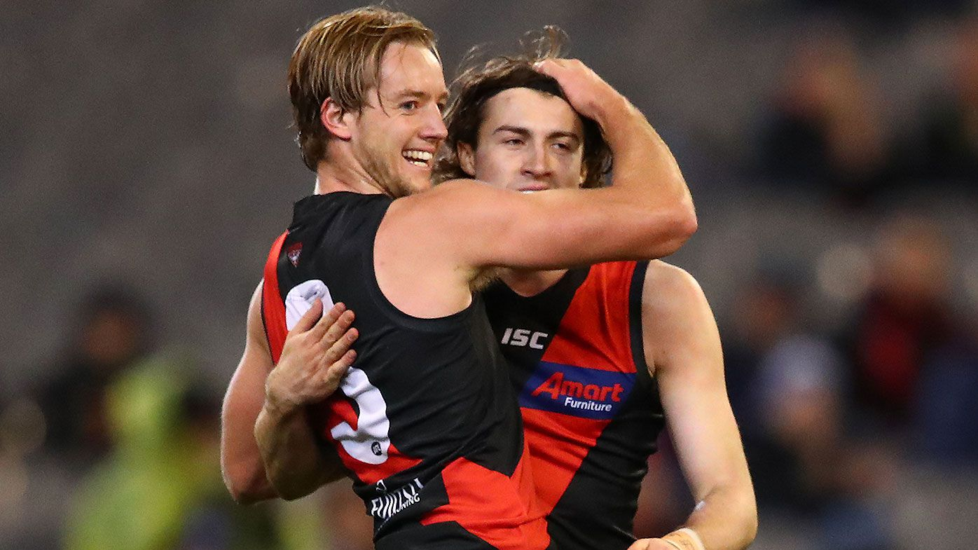 Young Bombers star Dylan Clarke shuts down Carlton skipper Patrick Cripps in dominant win