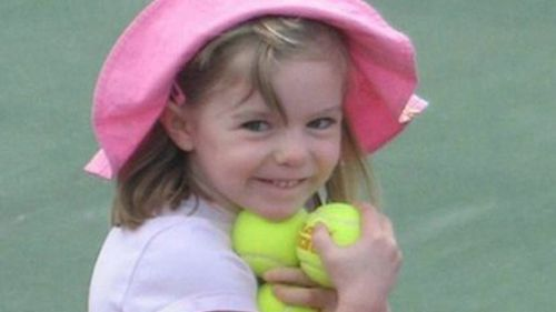 Madeleine McCann, missing since 3 May 2007. Source: AFP