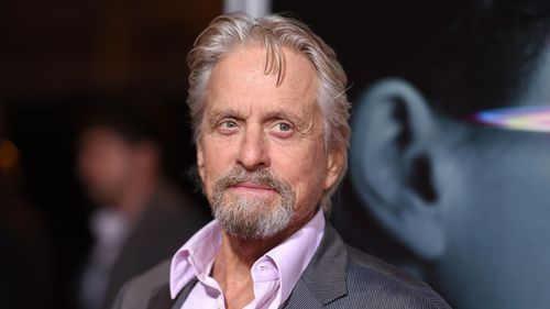 """Michael Douglas arrives at the world premiere of """"Flatliners"""" in Los Angeles in September, 2017. (AAP)"""