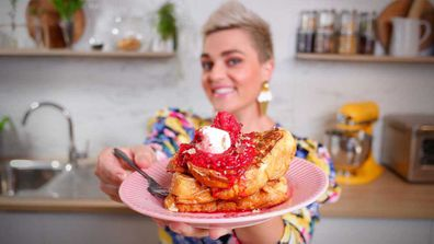 Jane de Graaff's trick to decadent French toast