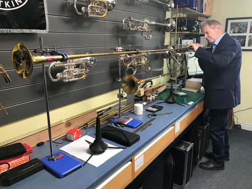 The instruments will be used at Meghan and Harry's wedding. (9NEWS)