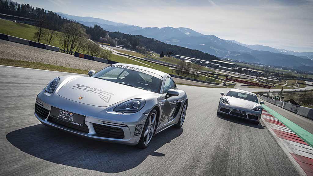 Porsche Red Bull Ring race track