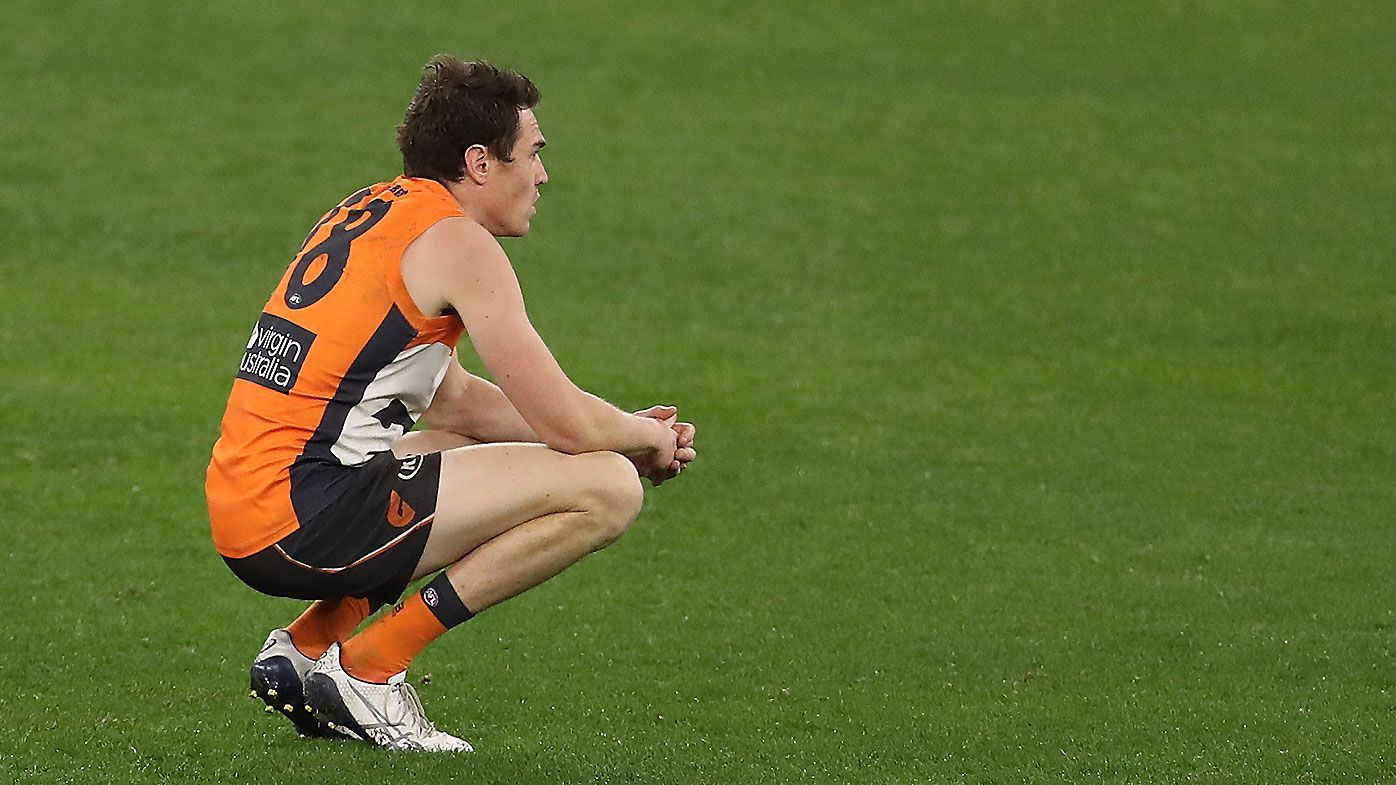 GWS Giants star Jeremy Cameron questioned over lack of 'edge' amid horror 2020 season