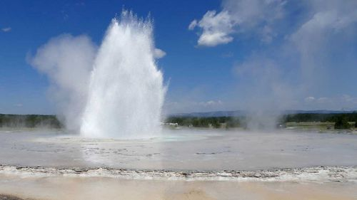 Yellowstone is famous for its volcanic activity.