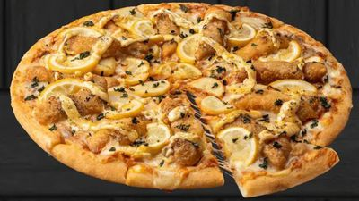 Domino's Japan fish and chip pizza