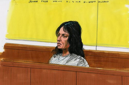 Ms Finch appeared in the Melbourne Magistrate's Court on March 10. (9NEWS)