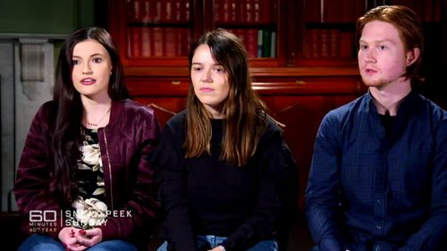 """The inflammatory response has angered the University of Adelaide's Student Representative Council (SRC) who this week tell 60 Minutes """"enough is enough"""". Picture: 60 Minutes"""