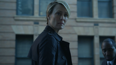 <p>As season one of House of Cards progresses we see Claire and Frank Underwood conspire and plan for political gain.</p>