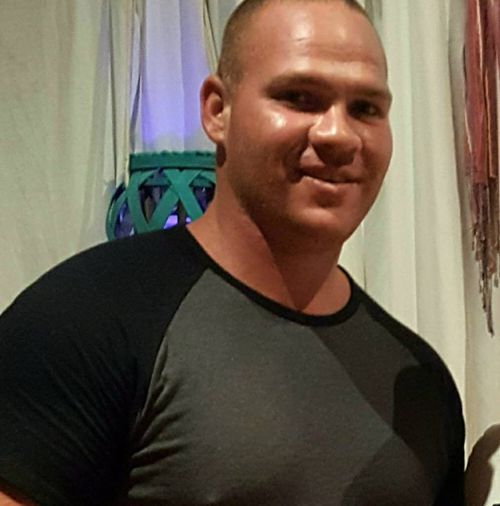 Rice is accused of leading police on  a two-week manhunt after cutting off his GPS tracker. Picture: Facebook