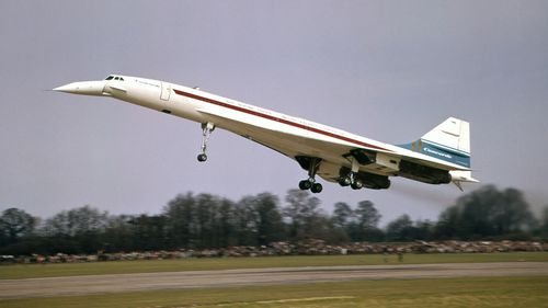 The Concorde flew between 1976 and 2003.