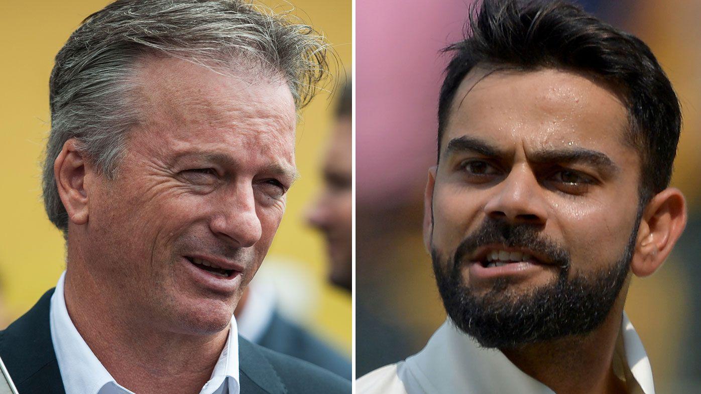 Former Australian cricket captain Steve Waugh tells Indian skipper Virat Kohli to rein in emotions