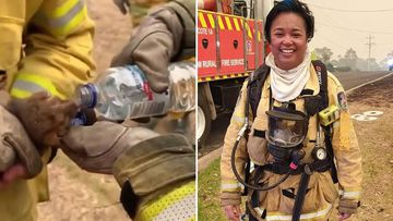 Volunteer firefighter Edwina Illman.