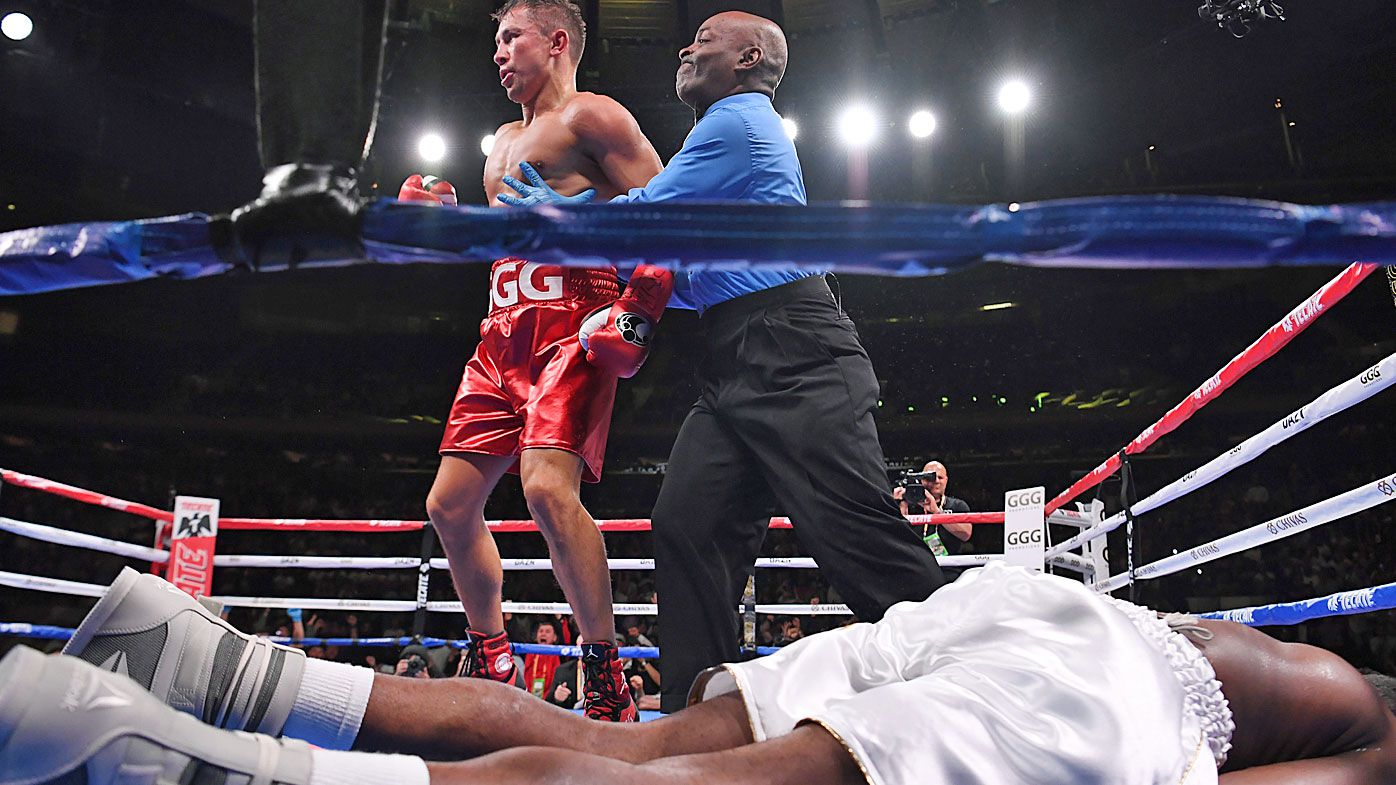 Gennady Golovkin makes return with 'brutal' knockout