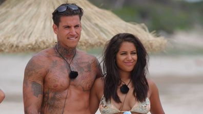 Malin and Terry Love Island UK Season 2.
