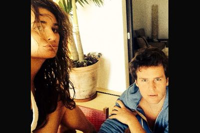 @msleamichele: Serious selfies! I <3 JG! #MEXICO