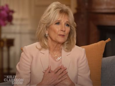 Jill Biden on the Kelly Clarkson Show