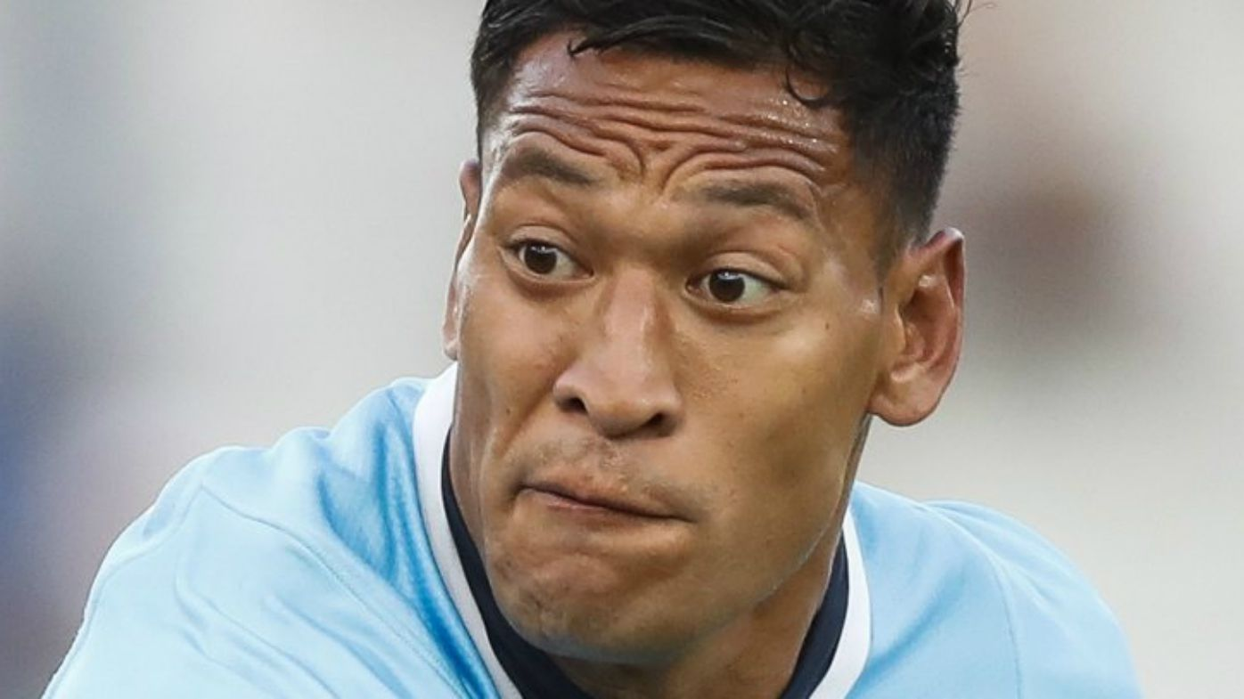 Israel Folau in action