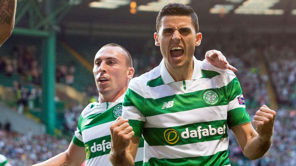 Rogic hits another super strike for Celtic