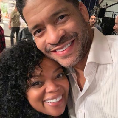 Bert Belasco with actress and good friend Yvette Nicole Brown.