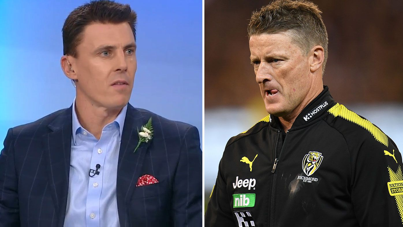 Matthew Lloyd reveals Damien Hardwick's texts after criticism of Tigers star Tom Lynch