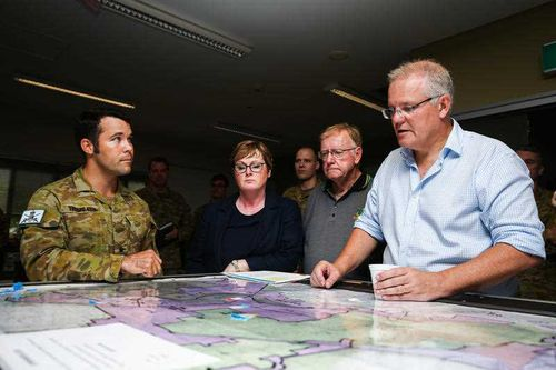 Scott Morrison was in Townsville on Tuesday.