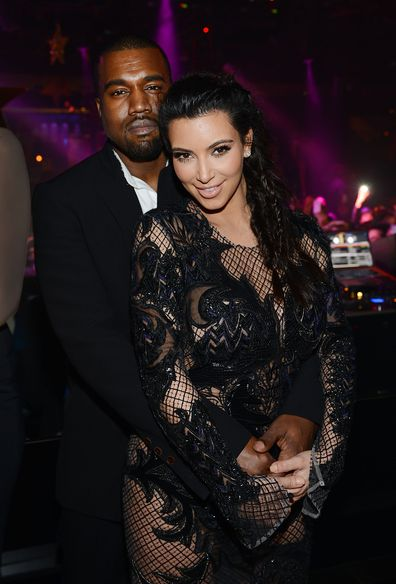 Kim Kardashian, Kanye West relationship timeline, Las vegas, New Years Eve, 2012