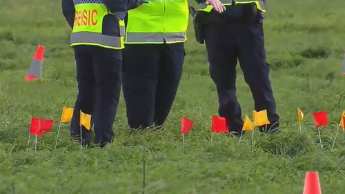 A six-year-old girl was tragically killed after a buggy overturned in Victoria.