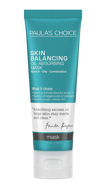 "<a href=""http://www.paulaschoice.com.au/shop/skin-care-categories/masks/_/Skin-Balancing-Oil-Absorbing-Mask?gclid=CjwKEAjwocKtBRCf9d_Q5ovcyHASJAAHhJYOY4Or_jJnWTy1foNoztxqV6aE17vcvIRDCAdVtey3-BoCNNvw_wcB&amp;gclsrc=aw.ds"" target=""_blank"">Skin Balancing Oil-Absorbing Mask, $30, Paula's Choice</a>"