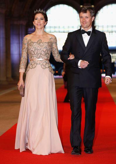 Princess Mary Japan gown