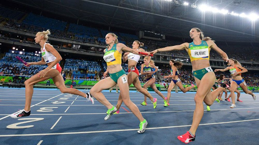 Australia's 4x400m relay team makes the final at the Rio Olympics