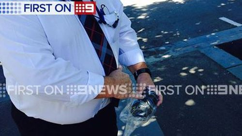 Police were called after reports of a loud explosion. (9NEWS)
