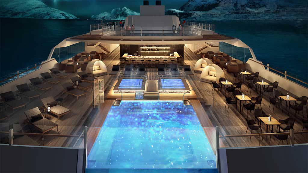 Inside the world's most innovative cruise ships stepping out in 2018