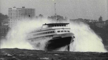 Manly ferry takes final trip across Sydney Harbour