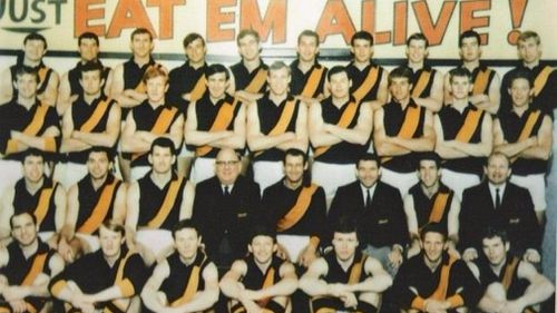 The Richmond Tigers have won 10 premierships. (Richmond FC)