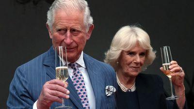 Prince Charles and Camilla at the British Ambassador's residence in Berlin, May 2019