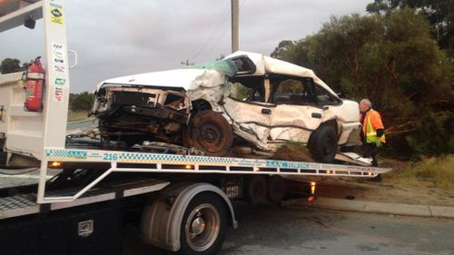 Major Crash Investigators are at the scene. (9NEWS)