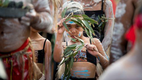 Indigenous Australia Day ceremony