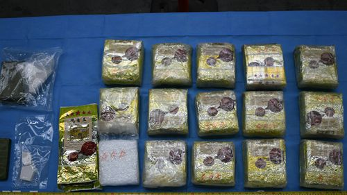 Police said they found more than $1 billion worth of ice hidden inside stereo speakers in Melbourne in the largest ever seizure of the drug in Australia.