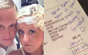 Couple leave waiter with $100 tip despite getting bad service