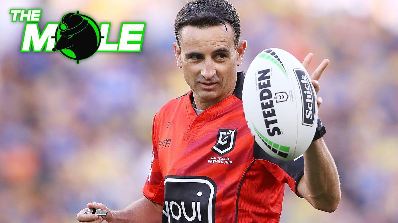 Ex-Kangaroos star David Fairleigh set for NRL referee coaching role
