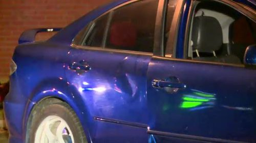 A woman has been arrested after an alleged hit-run in Clarinda in Melbourne's southeast. (9NEWS)